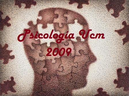 Psicología UCM 2009