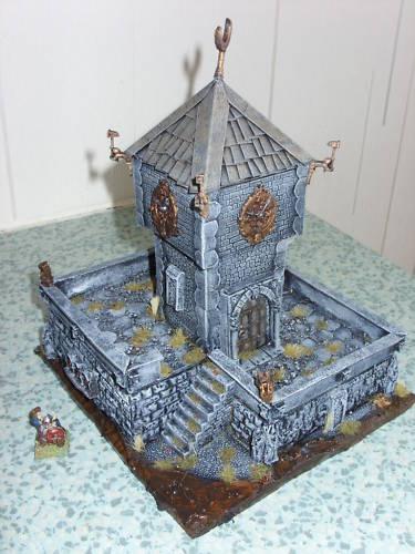 mordheim empire scenery terrain Clock110