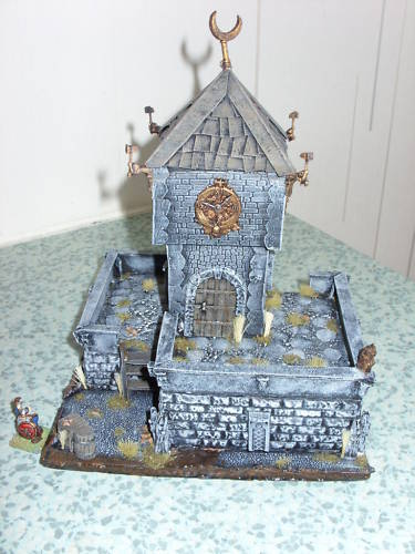 mordheim empire scenery terrain Clock210
