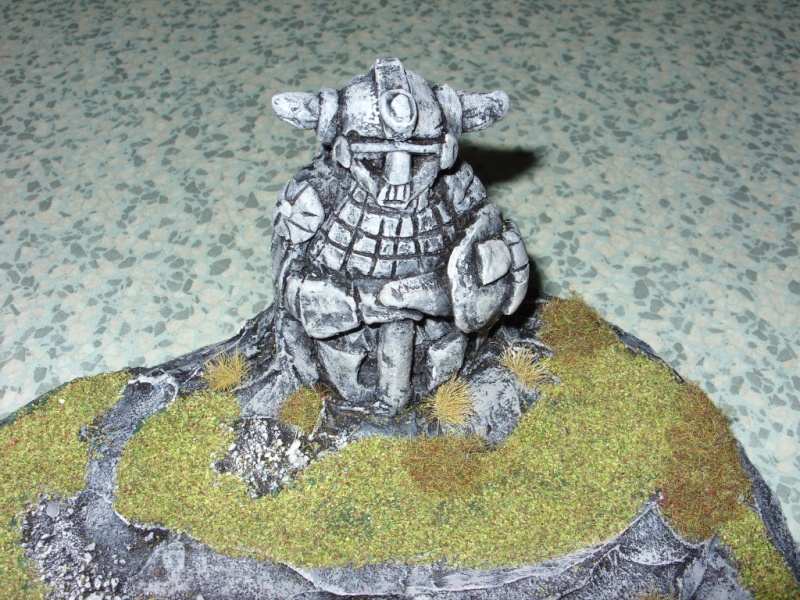 dwarf hero statue and lake Pictur42