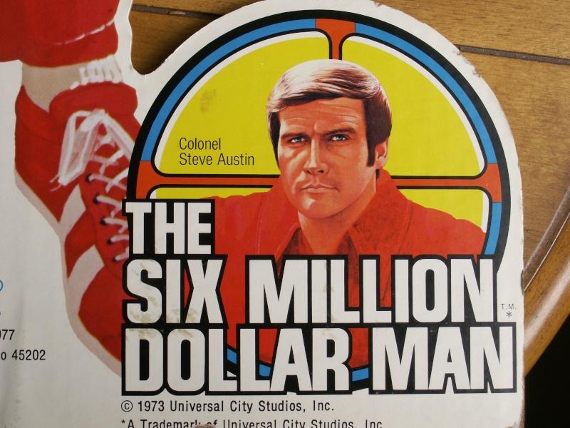 The Six Million Dollar Man /The Bionic Woman Kenner 1975-1978. Kgrhqe10