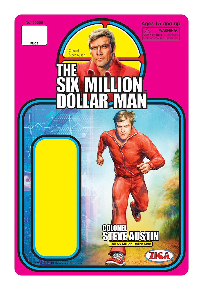 Zica Toys  'Six Million Dollar Man'  Rxqj3t10