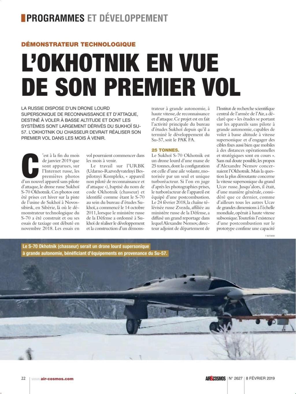 """S-70 """"Okhotnik"""" UCAV - Page 3 110baa10"""