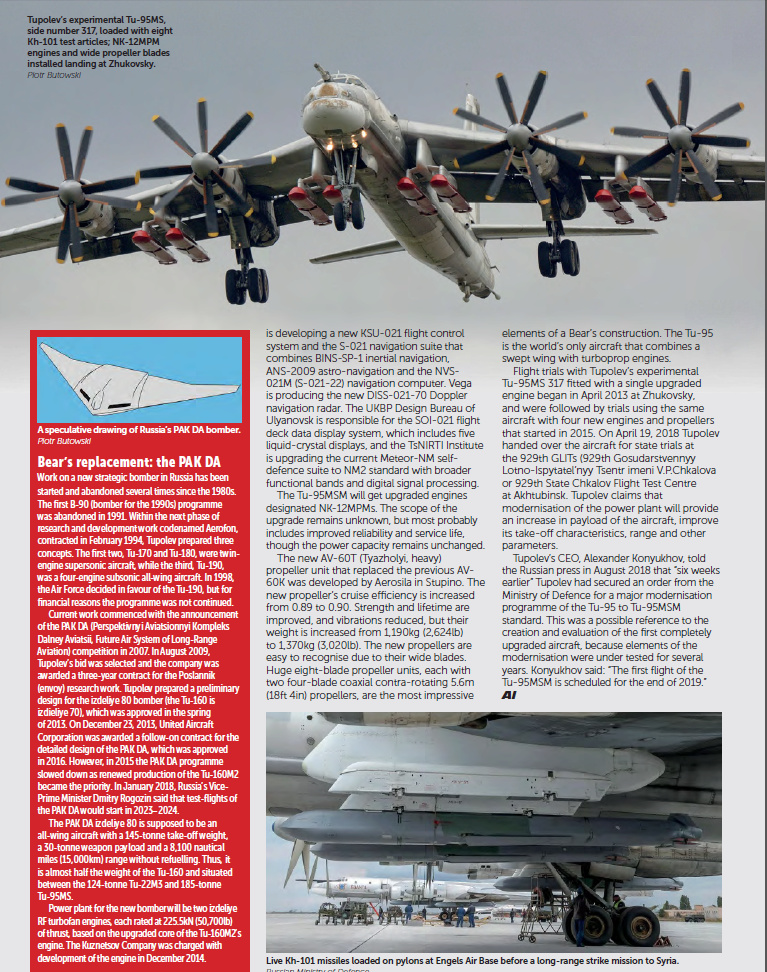 Tu-160 and Tu-95MS ( Blackjack and Bears ) - Page 34 Bears-12