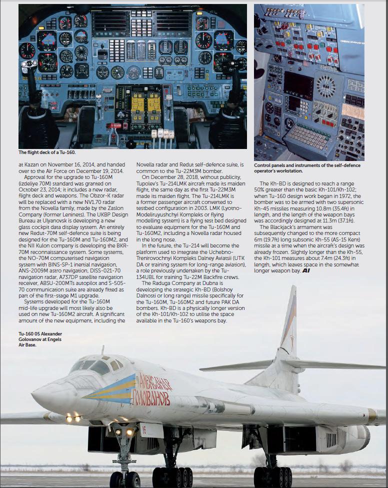 """Tu-160 """"White Swan"""" - Page 29 Blackj13"""