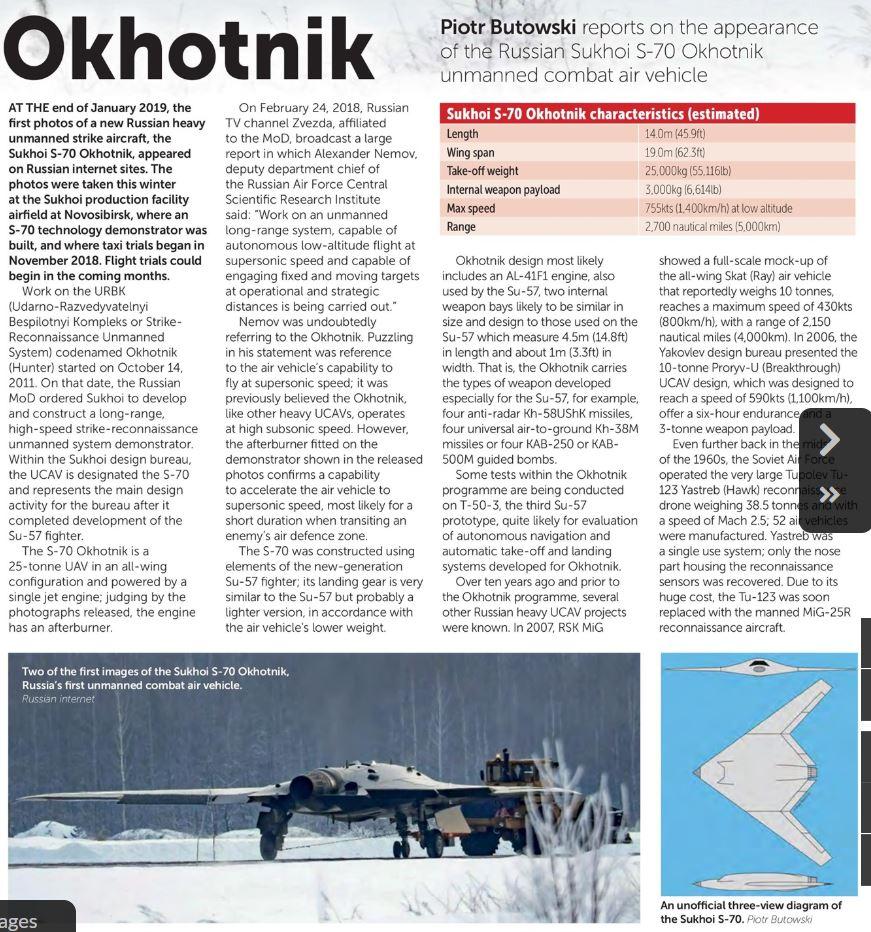 """S-70 """"Okhotnik"""" UCAV - Page 4 Okhotn10"""