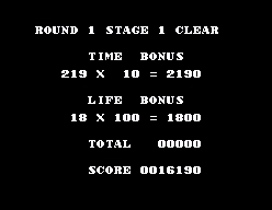 Jeu défis part II High score 8 Master Of Darkness niveau 1 Master10