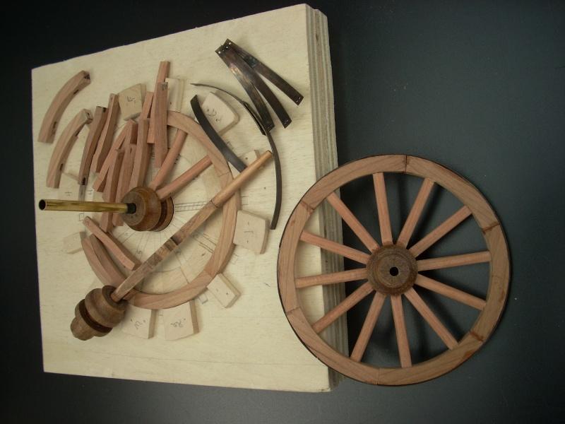 Fabrication d'une roue d'affût de campagne en 7 photos Dscn3612