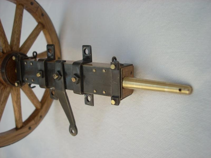 Fabrication d'une roue d'affût de campagne en 7 photos Dscn3815