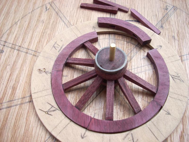 Fabrication d'une roue d'affût de campagne en 7 photos Dscn5424