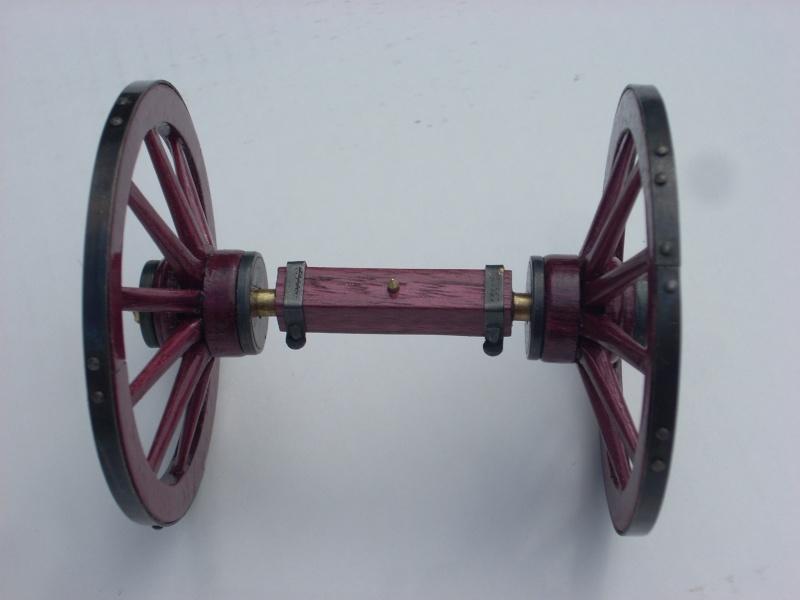 Fabrication d'une roue d'affût de campagne en 7 photos Dscn5429
