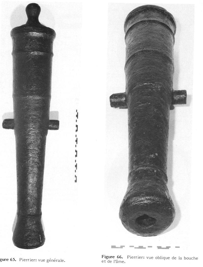 Le Machault, projet de poste de combat avec pierriers Machau10