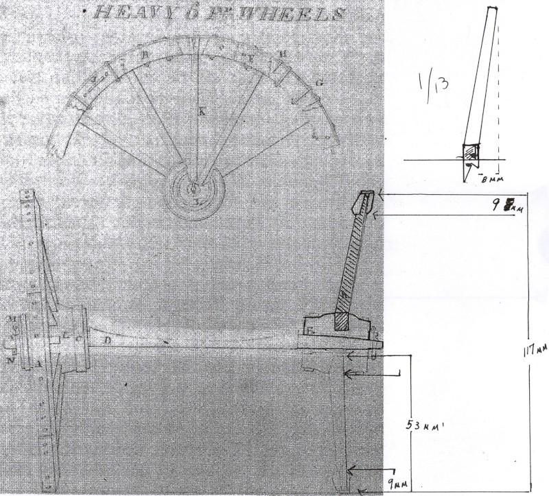 Fabrication d'une roue d'affût de campagne en 7 photos Roue_111