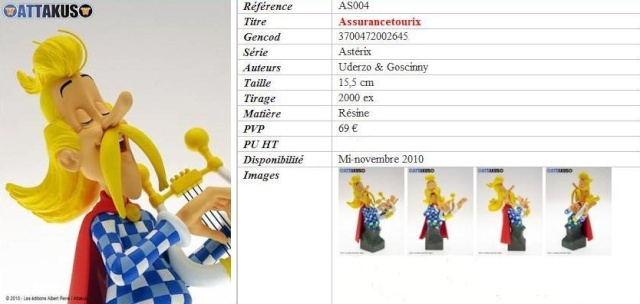 Bustes Attakus Astérix Assura10