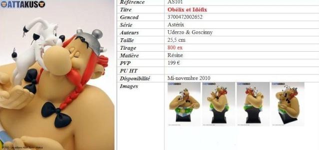 Bustes Attakus Astérix Obid10