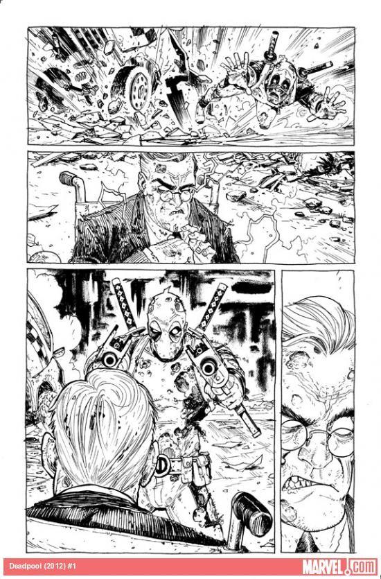 Deadpool #1-6 [Nouvelle série] News_i36