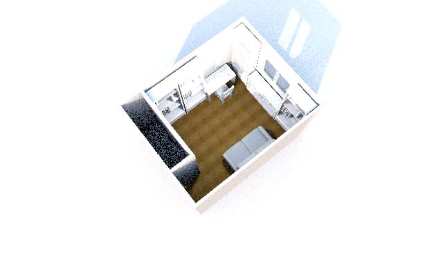 Faire un bureau et une chambre d'amis dans une seul pièce Plan_b13