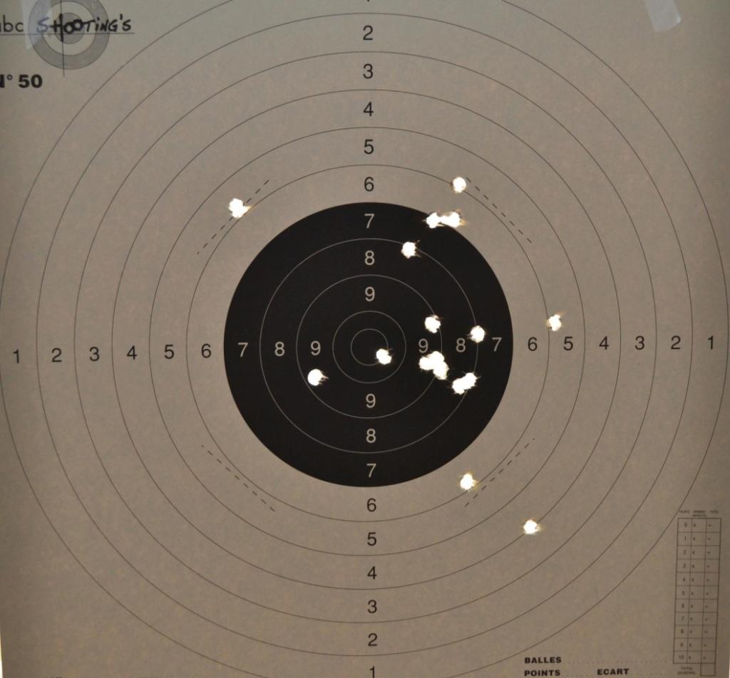 Carton tir à l'arme ancienne PN Cible-10