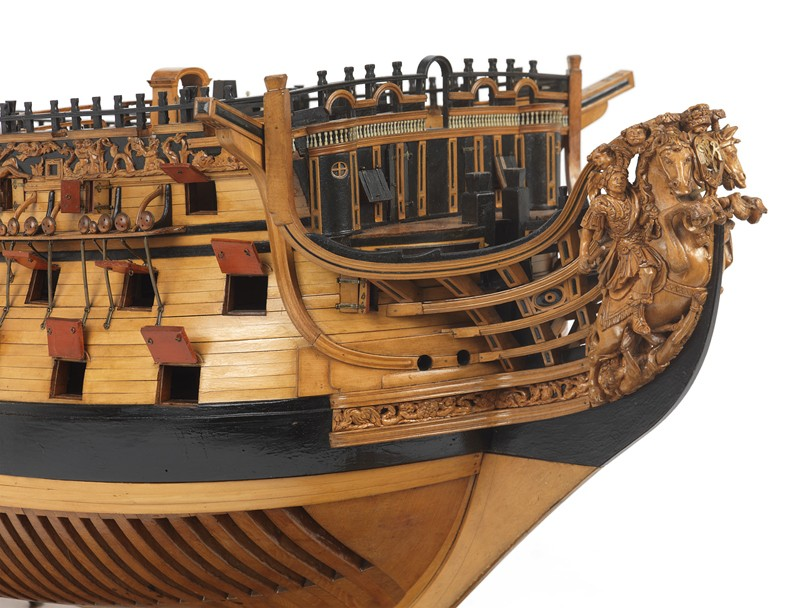 royal - costruzione H.M.S. ROYAL WILLIAM 1719 1:72 EUROMODEL Large-11