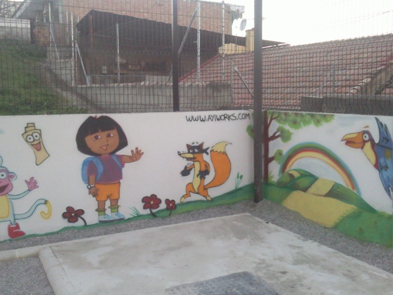 MURAL COLEGIO EDUCACION INFANTIL Foto0111