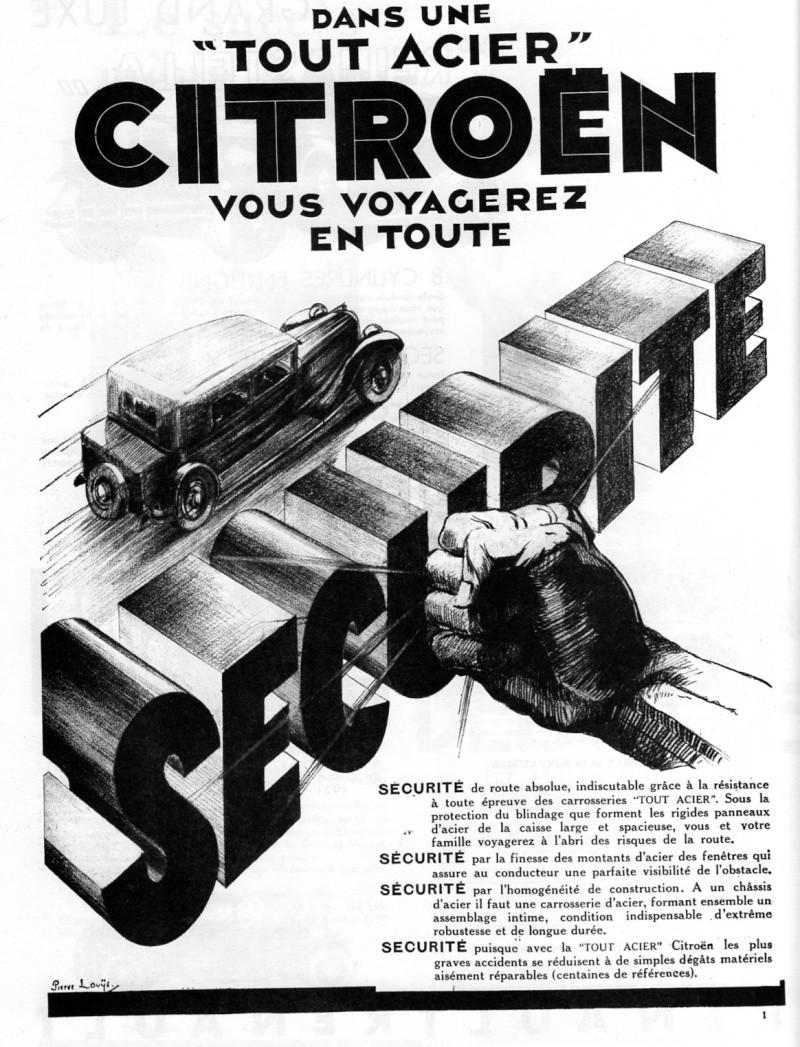 AFFICHES C 4 chassis long et BERLINE C 6 F Citroe14