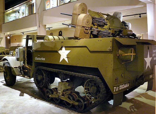 Half track M16 Tamiya 1/35 M3m1610