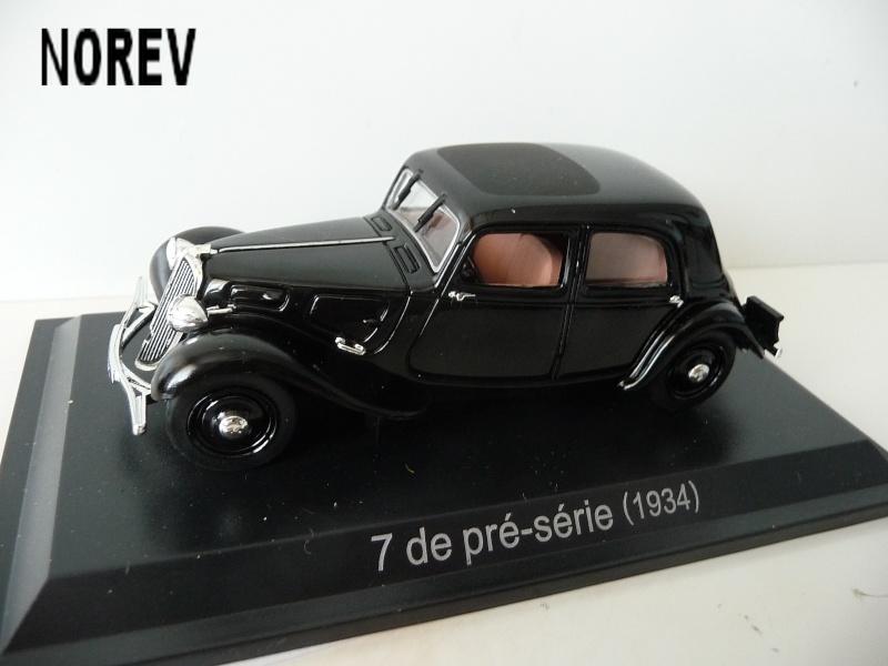 MA COLLECTION DE TRACTIONS 7 CV  - 1/43éme - modèles 1934 à 1937 P1020812