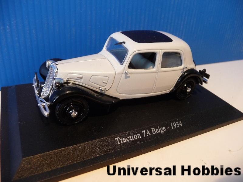 MA COLLECTION DE TRACTIONS 7 CV  - 1/43éme - modèles 1934 à 1937 P1020813