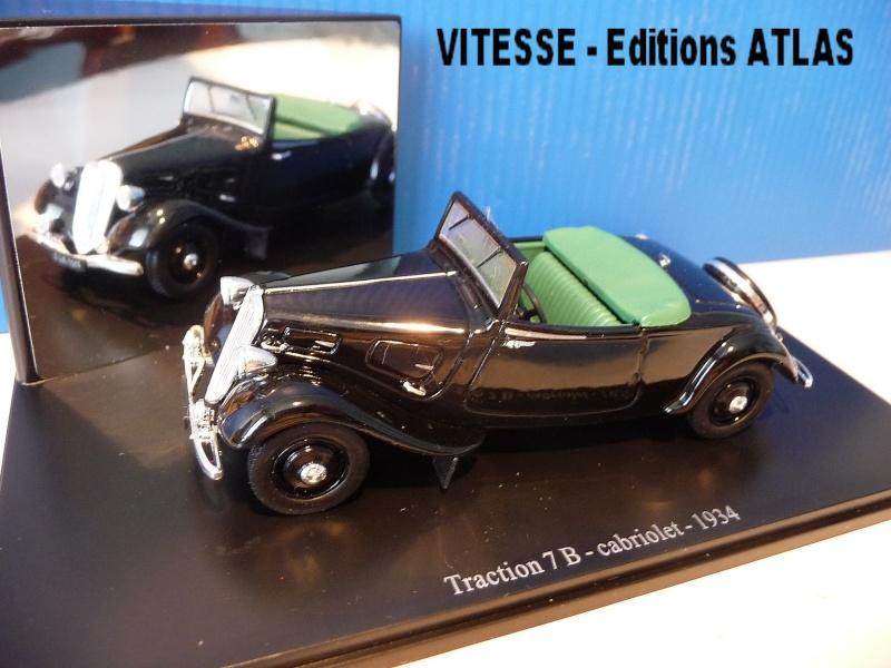MA COLLECTION DE TRACTIONS 7 CV  - 1/43éme - modèles 1934 à 1937 P1020814
