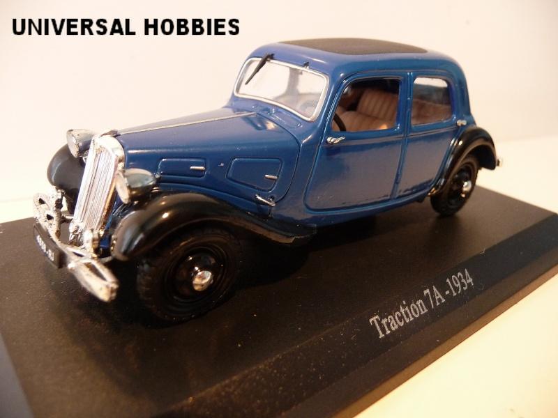 MA COLLECTION DE TRACTIONS 7 CV  - 1/43éme - modèles 1934 à 1937 P1020817