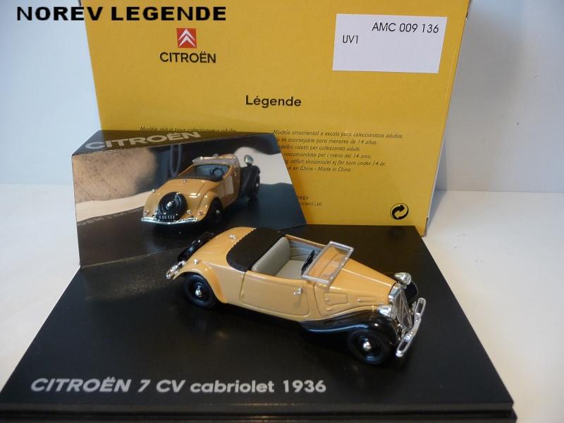 MA COLLECTION DE TRACTIONS 7 CV  - 1/43éme - modèles 1934 à 1937 P1020818