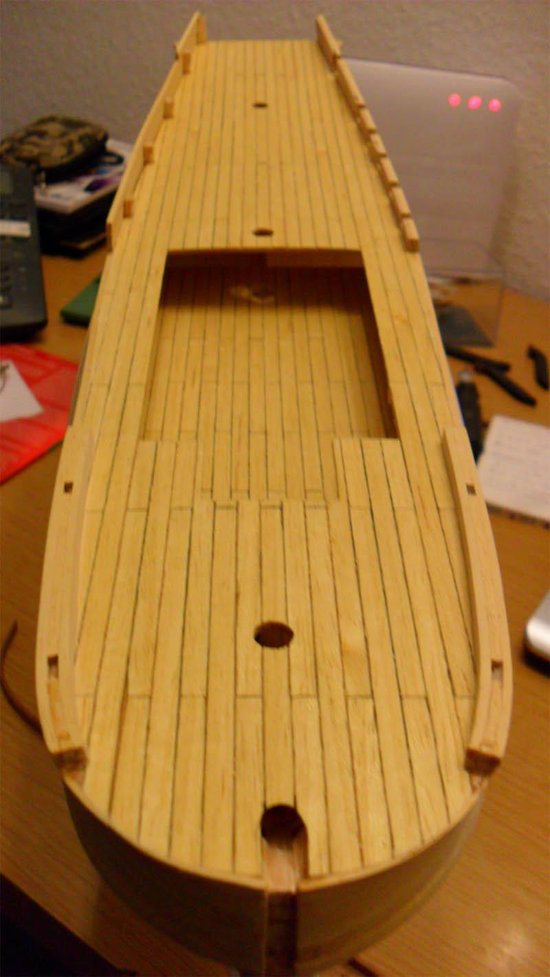 Hermione La Fayette 1780 / Artesania Latina Planke15