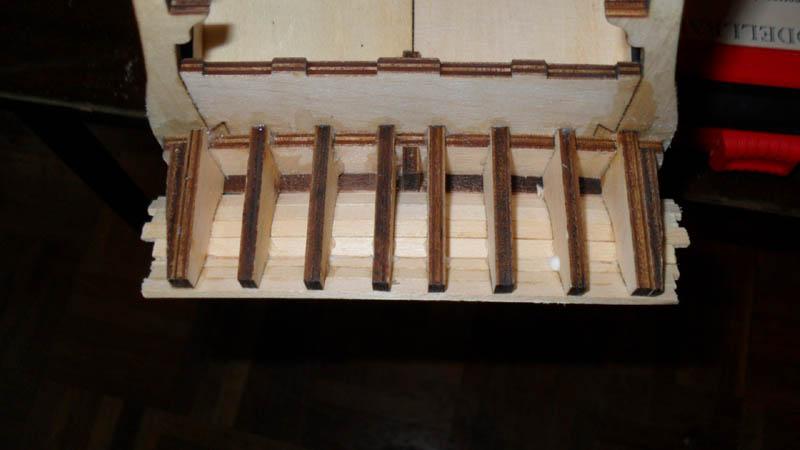 Wilfried's Baubericht zur Victory aus Holz und anderem Kram Rumpf114