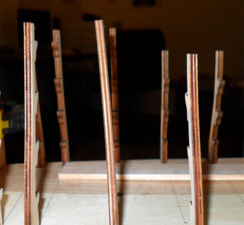 Wilfried's Baubericht zur Victory aus Holz und anderem Kram Rumpf810