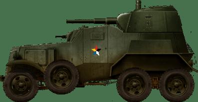 Challenge Militaria 2021: BA-10 [Zvezda, 1/35] Manchu11