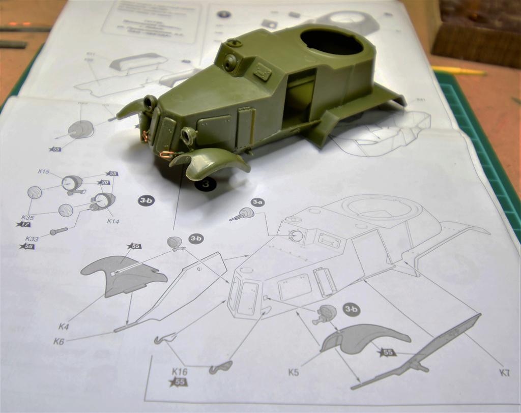 Challenge Militaria 2021: BA-10 [Zvezda, 1/35] Srb_2024