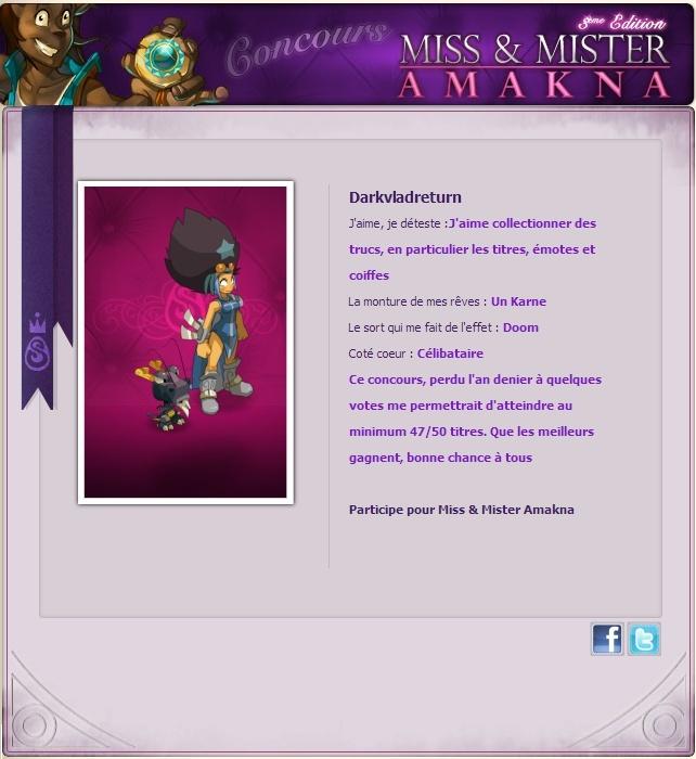 Miss & Mister Amakna 2013 by DVR Miss_d10