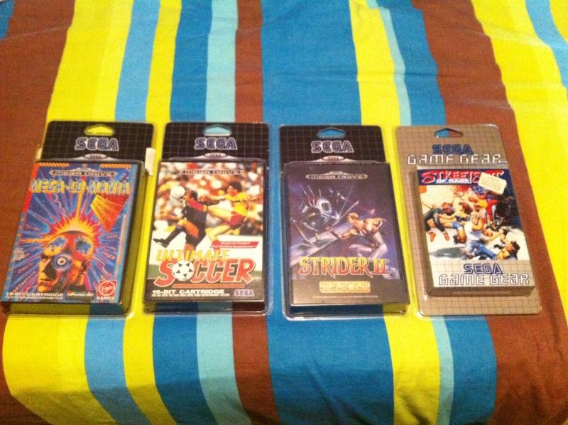 La collec Sega de Scrat : Nouveau pack megadrive le 25/08/13 Img_0111