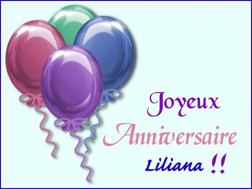 Joyeux anniversaire Liliana ! Annive10