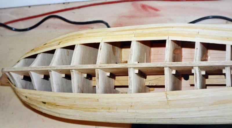 Building HMS Blandford (1719) Blandf13