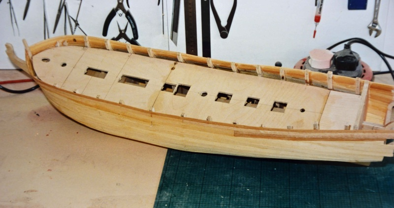 Building HMS Blandford (1719) Blandf16