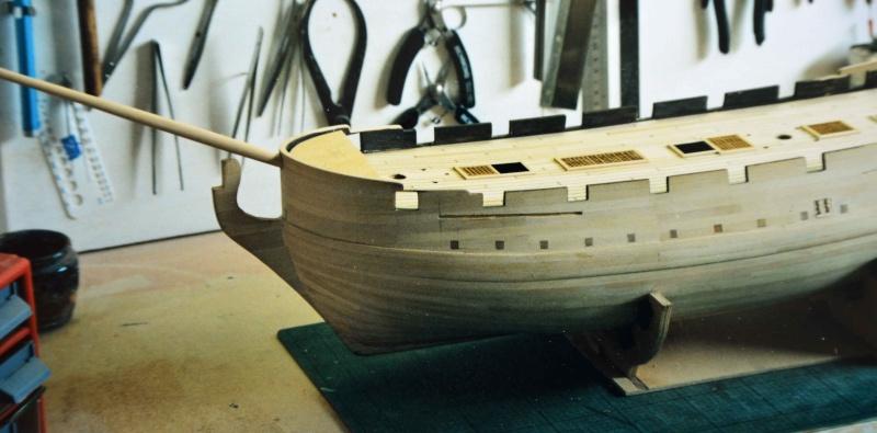 Building HMS Blandford (1719) Blandf17