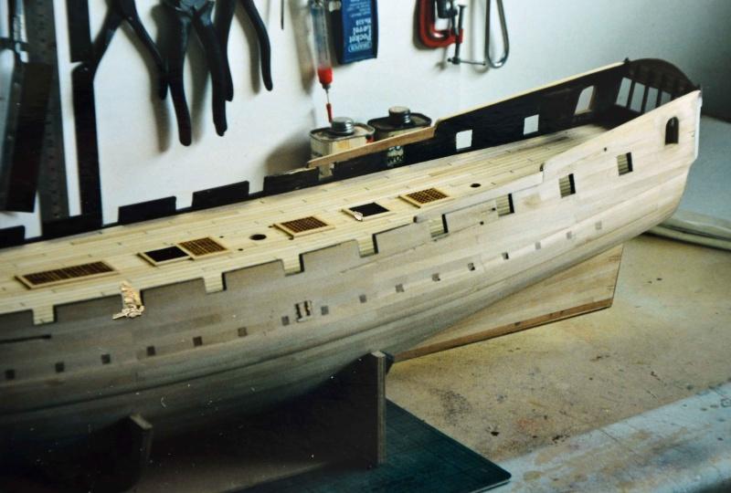 Building HMS Blandford (1719) Blandf18