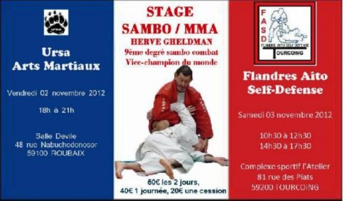 Grand stage de Sambo à Roubaix & Tourcoing ! 25971610