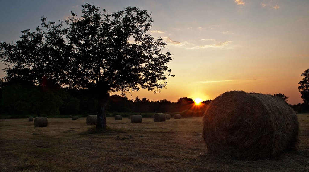 coucher de soleil campagnard Couche12