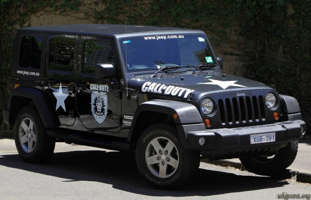 Jeep Call of Duty 12894110