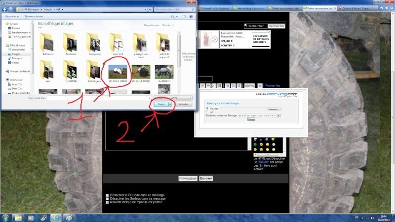comment mettre des photos sur le forum St310