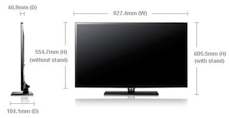 [Bán Trả Góp] Tivi 40in SAMSUNG Full HD - Kết nối Wi-Fi Internet Ua40es17