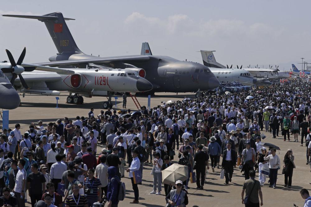 Salon aéronautique de Zuhai 2018 / Airshow China 2018 (6 au 11 novembre) 10695812