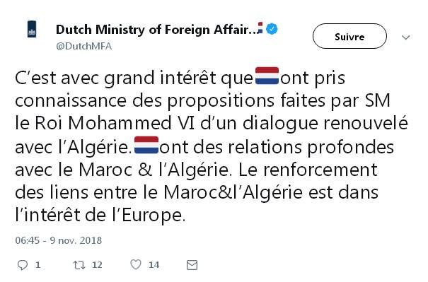 Diplomatie marocaine - Relations internationales Tweet12